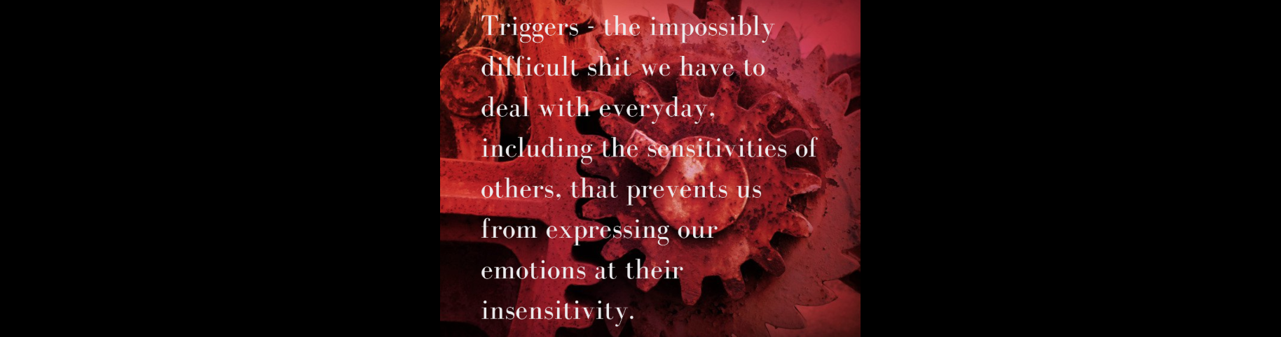 anger and triggers
